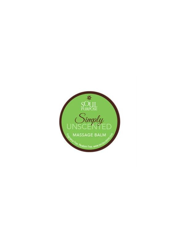 Simply Unscented Massage Balm - 0.5 oz.