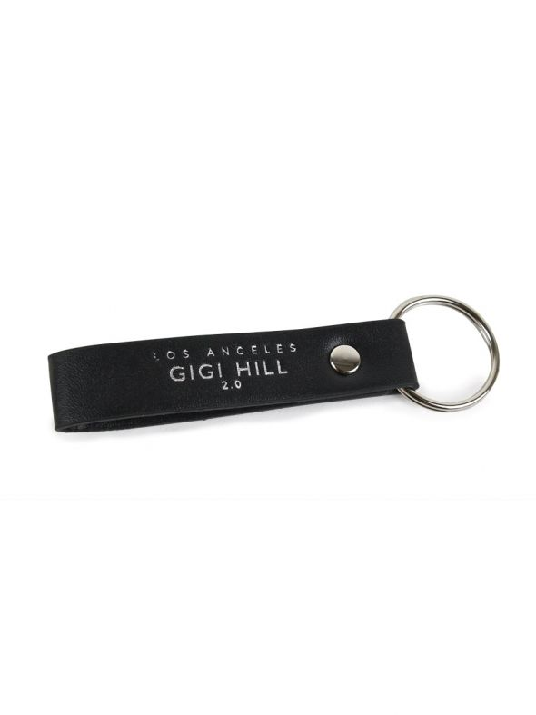 Kylie Black Faux Key Chain