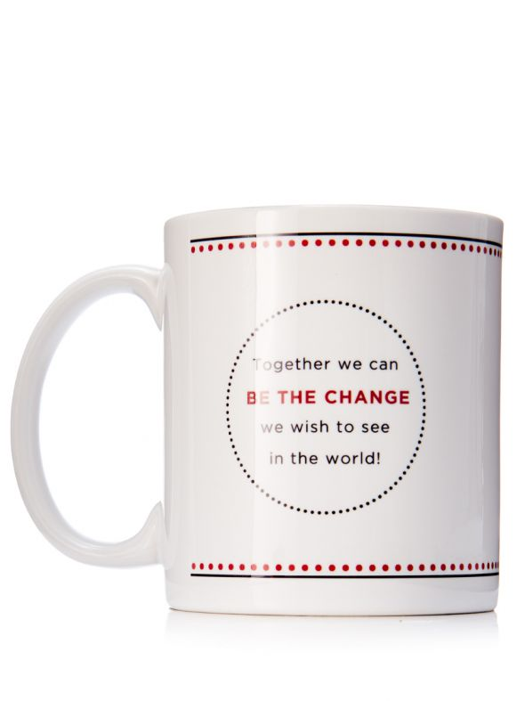 Be the Change Coffee Mug